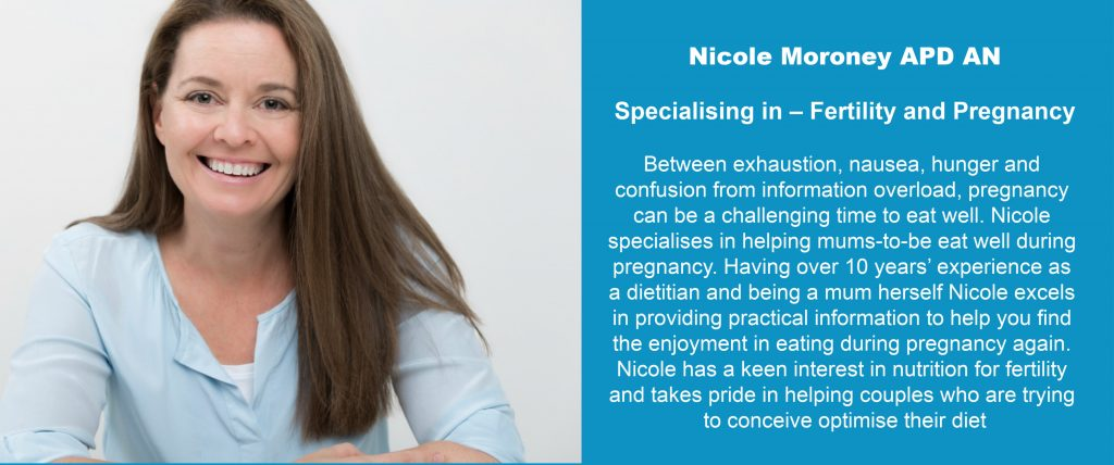 Nicole Moroney APD An Specialising In Fertility & Pregnancy